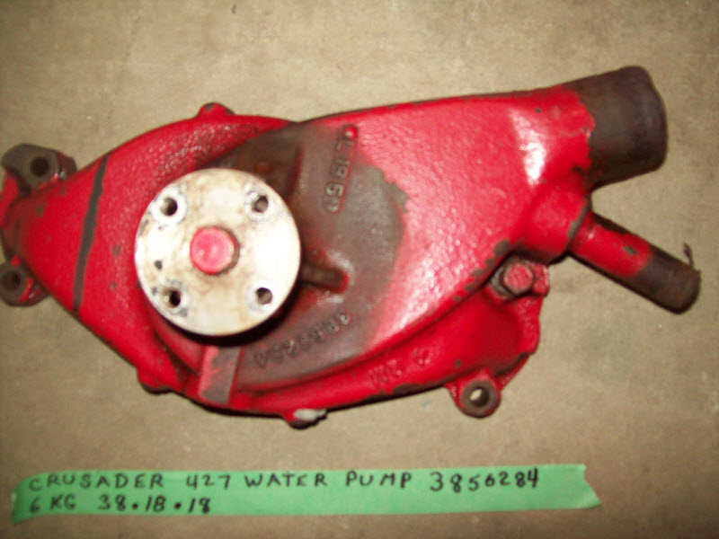 Crusader water pump MerCruiser