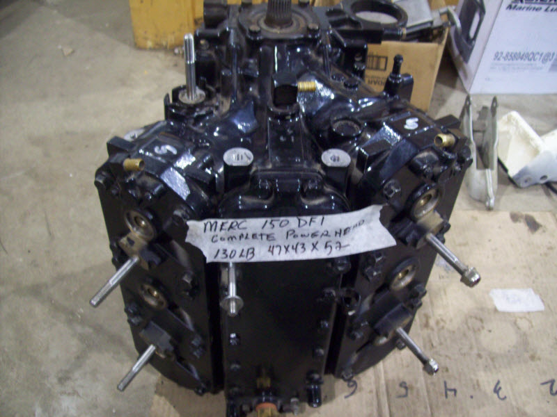 on 1999 Mercury Outboard 115 Hp Power Trim