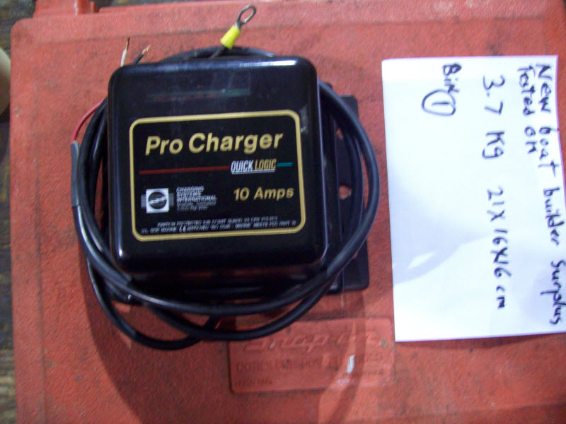 10 amp Battery Charger Single Bank