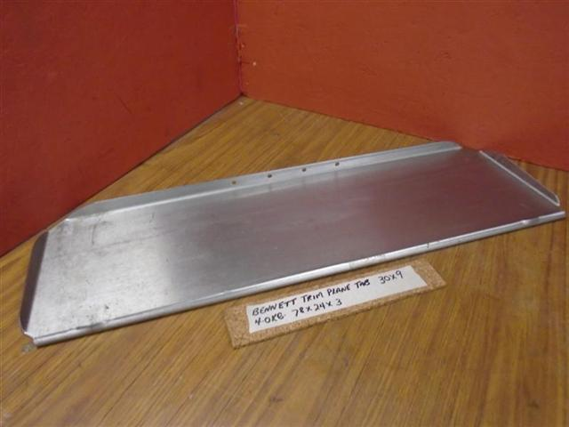 Bennett Heavy Duty Stainless Steel Trim Plane Tab 30x9