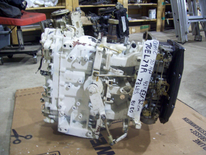 Bravo on Mercury Marine 70 Hp 3 Cyl Outboard Motor Parts By