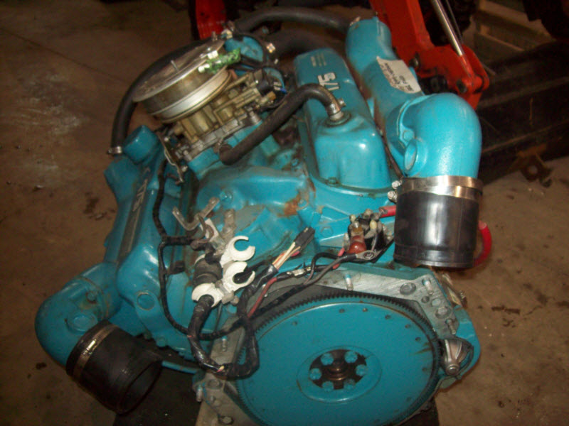 Omc 175 Hp 302 Ford Motor For Sale 7 Hr Since New Omc 175