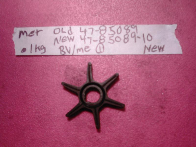 mercury quicksilver pump impeller 47 85089 10 8508910