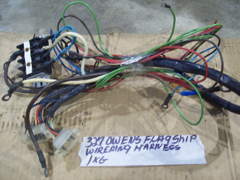 owens flagship chevy 225 327 283 v8 wire wiring harness. Black Bedroom Furniture Sets. Home Design Ideas