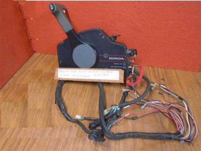 Honda Outboard Parts >> Honda Outboard Side Mount Remote Control With Trim Honda