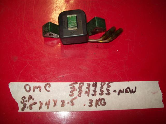 Johnson Evinrude ignition coil 583485,584333,0583485,0584333
