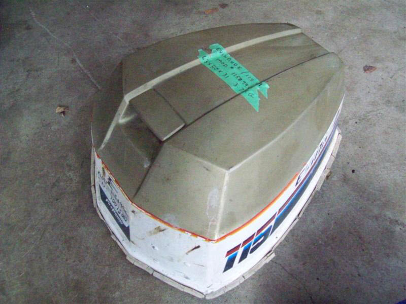 Johnson evinrude 115 hp engine cover brp 0281120 brp for Boat motor covers johnson