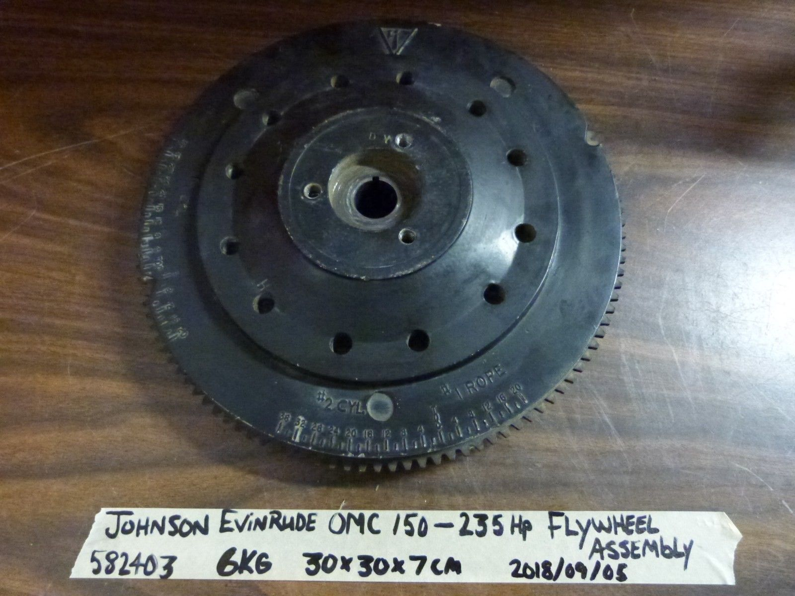 Johnson Evinrude OMC 150 155 175 185 200 235HP FLYWHEEL ASSEMBLY