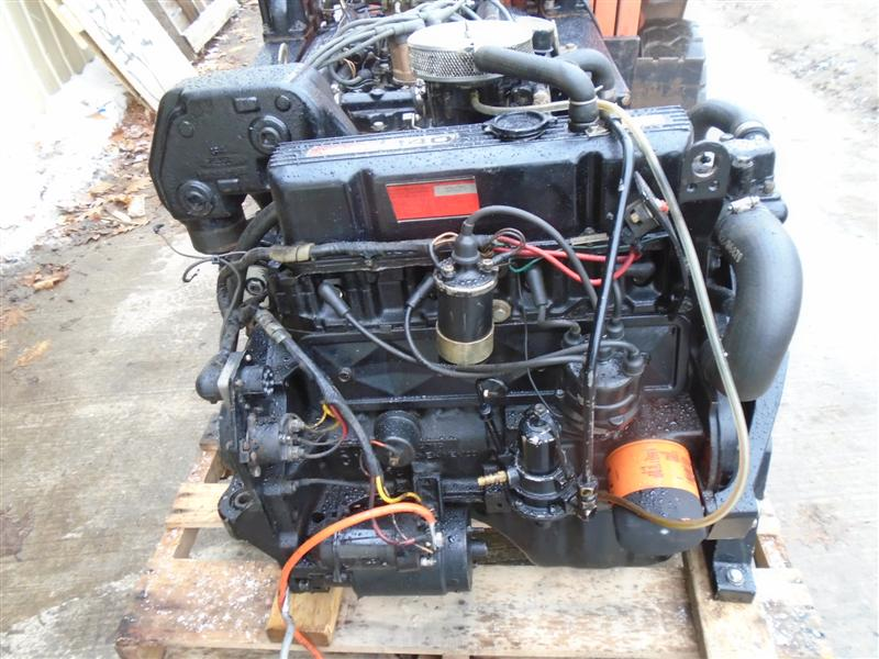 mercruiser 3.0l 140hp mercruiser 140 hp 3.0 engine motor good used 3 liter  181 cid [mercruiser 140 engine motor] - $2,295.00 : used boat parts  shipwreck salvage