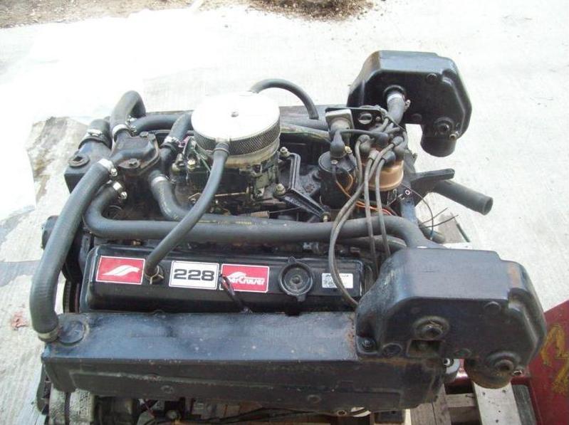 Mercruiser 228 305 V8 Engine Motor For Sale Mercruiser 228