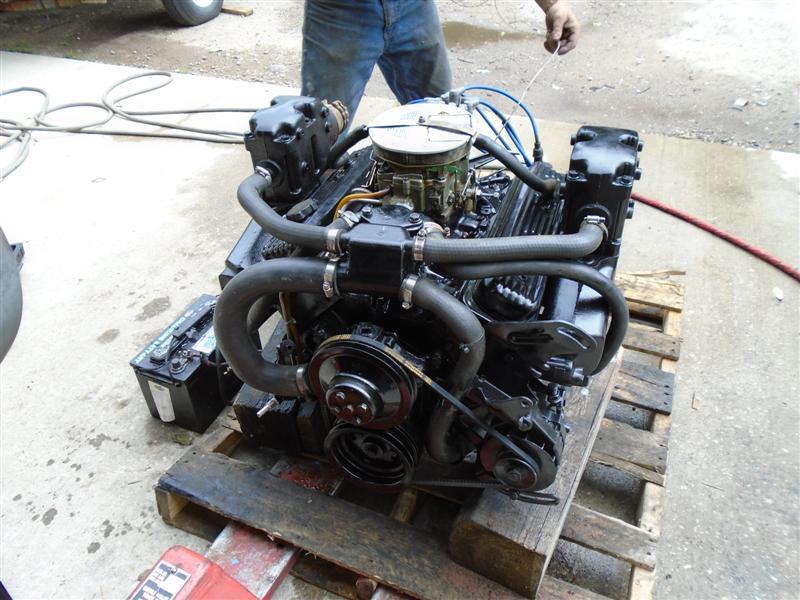 Mercruiser 5 0 230 Hp Engine Motor Mercruiser 5 0 230 Hp