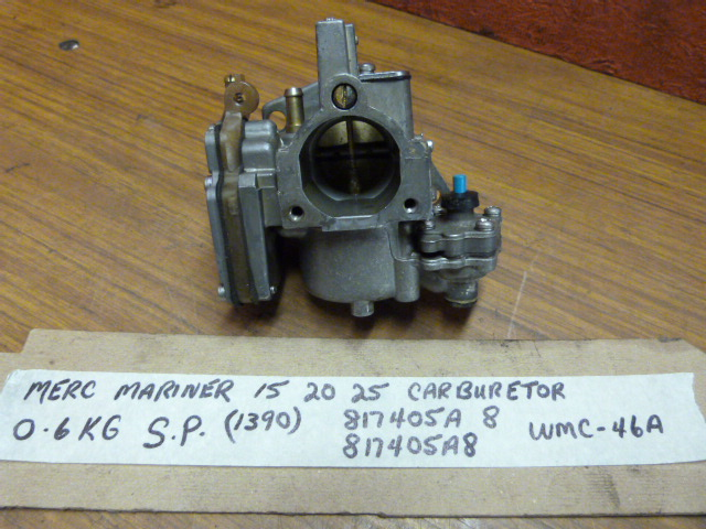 Mercury Mariner Carburetor WMC-46A 817405A 8