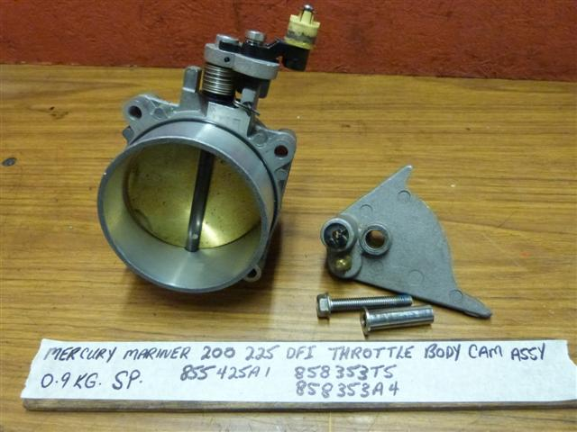 Mercury DFI Throttle Body & Cam 855425A1 858353T5 Mercury