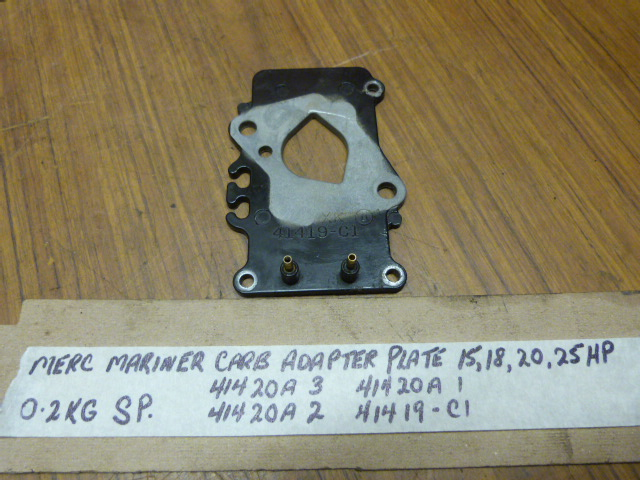 Mercury Mariner Carburetor Adapter Plate 41420A 3