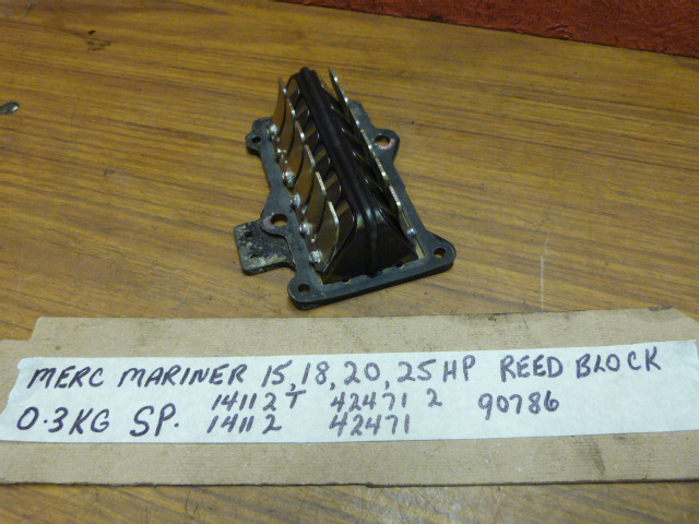 Mercury 15 18 20 25HP Reed Block 14112T 14112