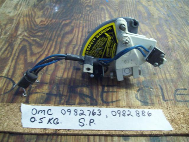 OMC Shift Assist Switch Assy 982763 982886 982762