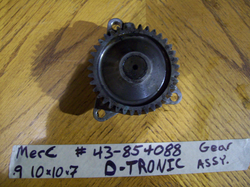 MerCruiser D-TRONIC VM Diesel GEAR ASSEMBLY 43-854088