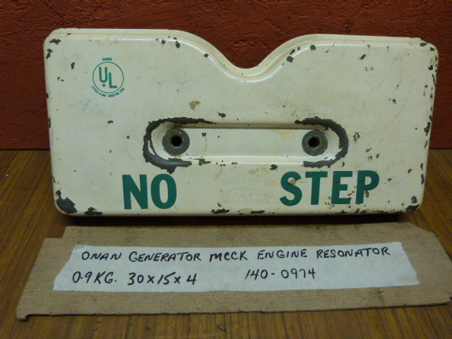 Onan MCCK Engine Resonator 140-0974 Onan Marine Generator MCCK 3 5