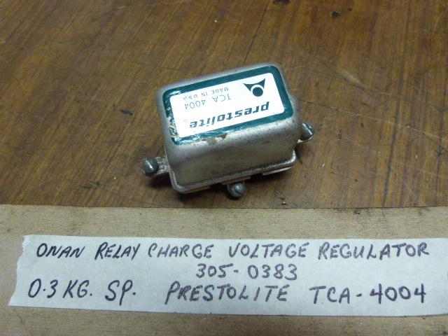 Onan Prestolite Voltage Regulator 305-0383 Onan Marine Generator