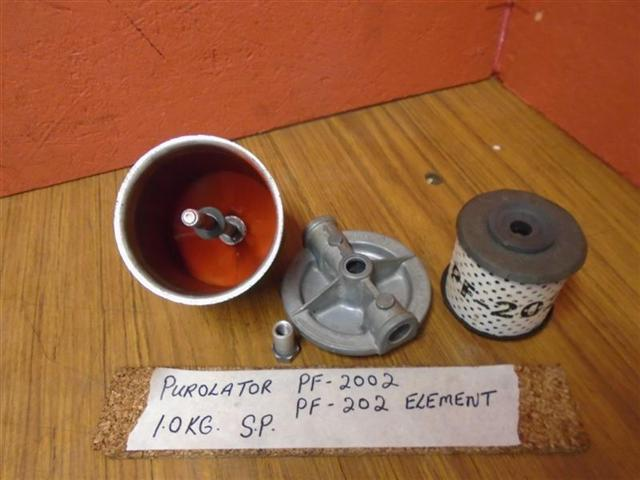 PurOlator Fuel Filter PF-2002 With Cartridge Element PF-202 PurOlator Fuel  Filter PF-2002 With Cartridge Element PF-202 [PurOlator PF-2002] - $45.00 :  Used Boat Parts | Purolator Fuel Filters |  | Shipwreck Salvage