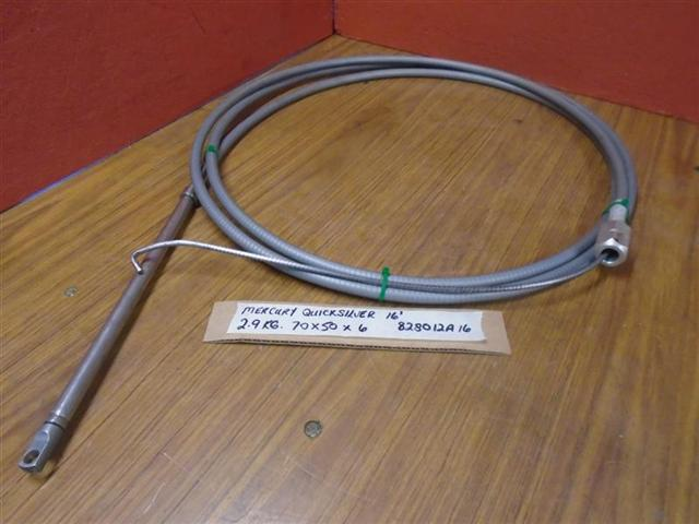 mercury quicksilver 16ft rotary steering cable 828012a16