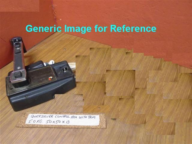 Quicksilver Side Mount Remote Control Box With Trim  U0026 Cables Mercury Quicksilver Single Engine