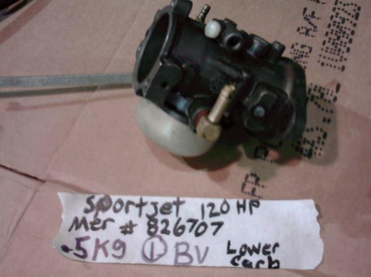 Sportjet 120 bottom carburetor 8267072, 8267071, 826707, 854454