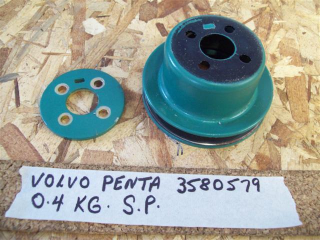 volvo penta water pump pulley 3580579 volvo penta md2040