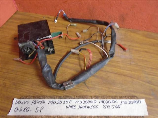 Volvo Penta Md2040c Md2040d Engine Wire Harness 873565
