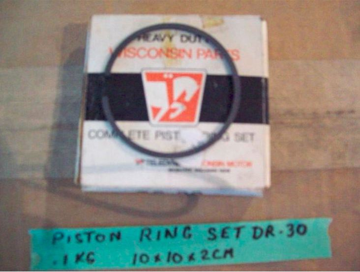 Wisconsin piston rings DR-30