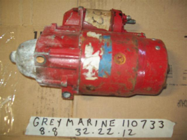 Gray Marine Fire ball, 110733 3 M11, Starter