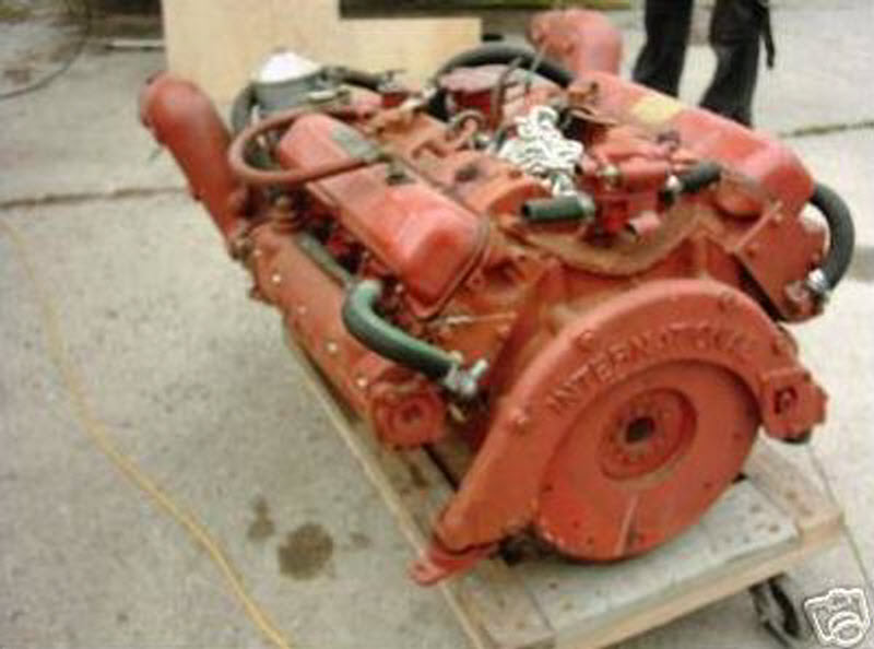 International Marine power 345, 225 hp V8 Engine Motor