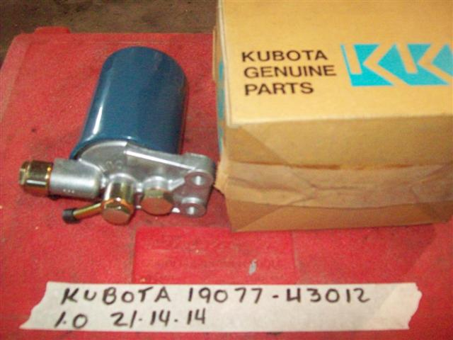 Kubota 19077-43012 FILTER, FUEL ASSY.