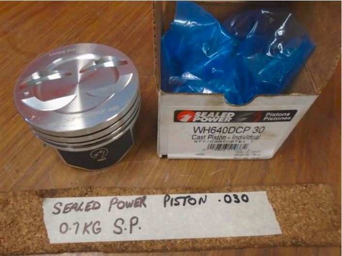 Sealed Power Cast Piston WH640DCP 30 H423DCP H640DCP .030